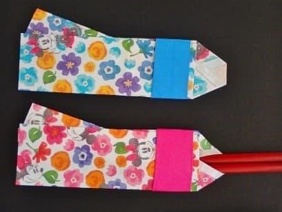 七夕の折り紙♪着物の箸袋の簡単な作り方