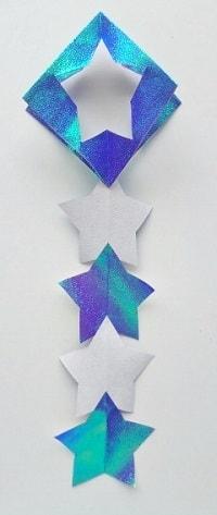 七夕飾りを折り紙で♪かわいい簡単な星飾りの作り方