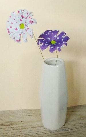 【折り紙】秋の花(10月の花・11月の花)立体の菊の簡単な作り方