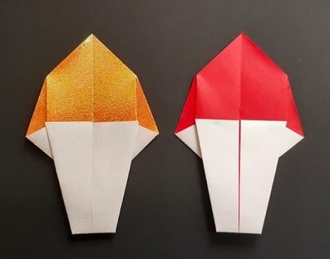 オリンピックを折り紙で!聖火の簡単な折り方